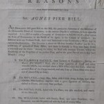 Exciting purchase: Late 18th century handbill