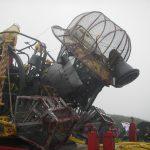 Man Engine visits St Agnes