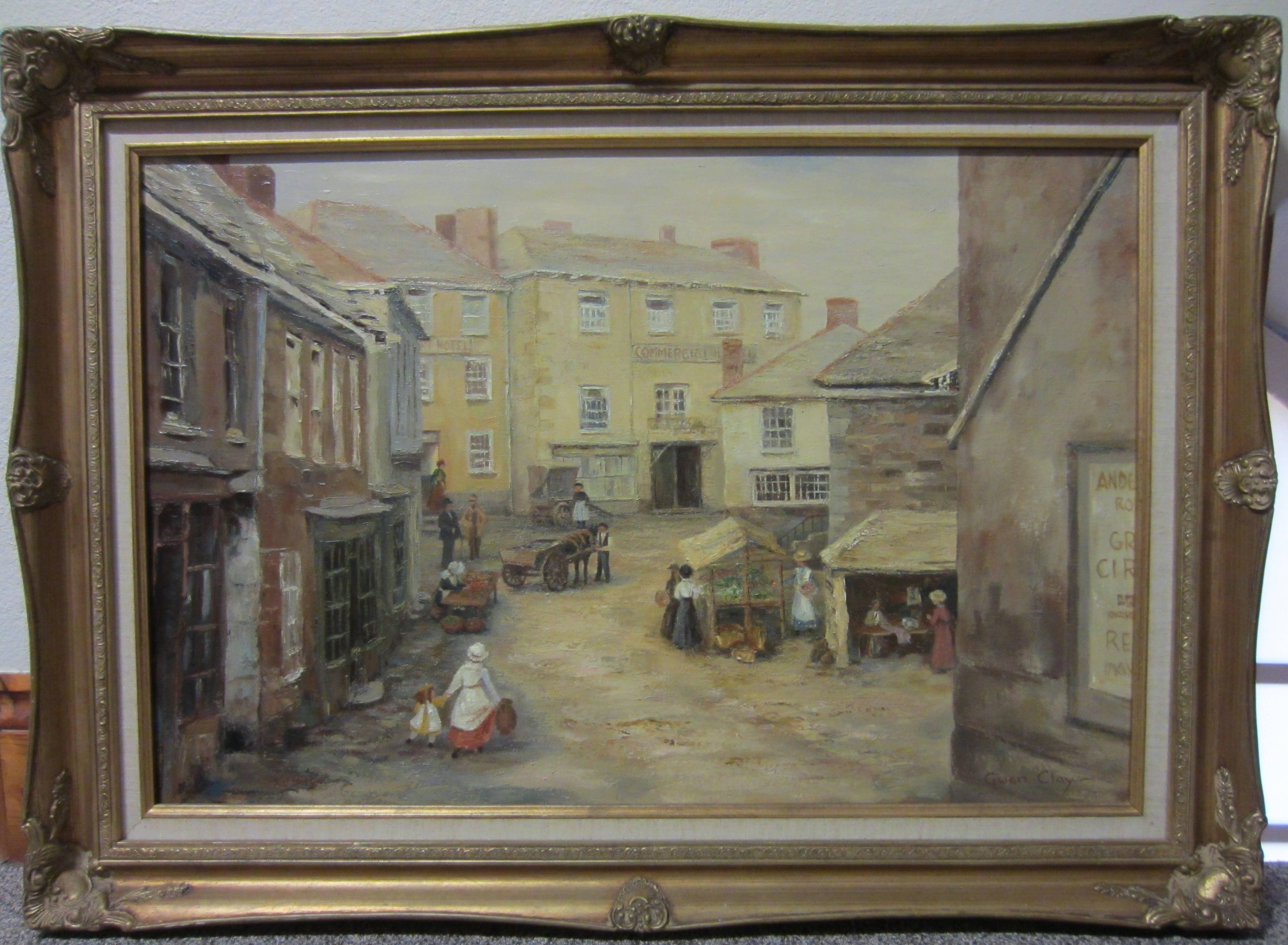 Old Churchtown by the late Gwen Clay