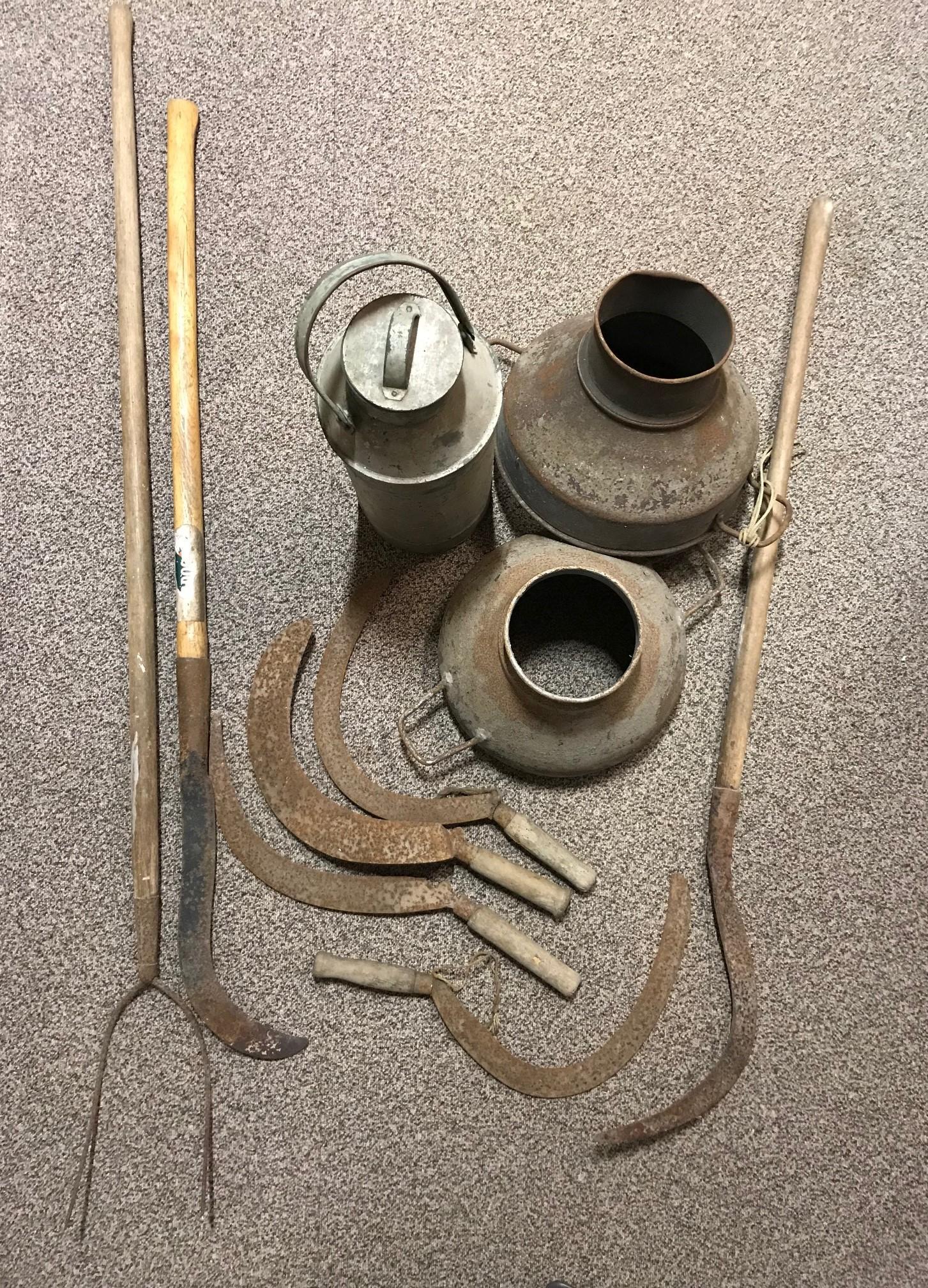 Tresco farm implements